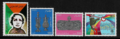 Algeria #700, 706, 707 and 714 MNH Stamps