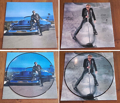 "RARE French PICTURE DISC LP 33t 12' JOHNNY HALLYDAY ""Concert Live Los Angeles"""