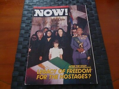 Now! Magazine August 1980 Shah Of Iran, Jim Prior, Moscow Olympics, Queen Mother
