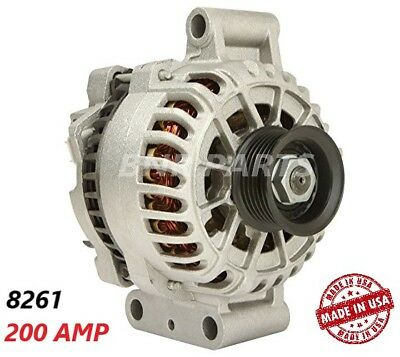 200 AMP 8261 Alternator Ford Focus 2000-2004 2.0 High Output Performance HD USA