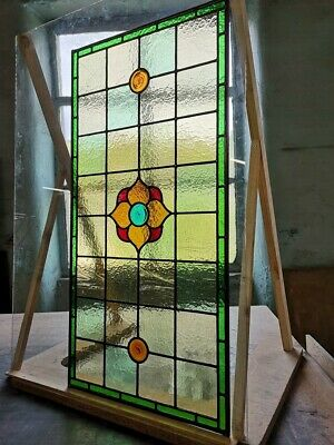 Victorian, Edwardian style Stained Glass Fanlight, handmade to order