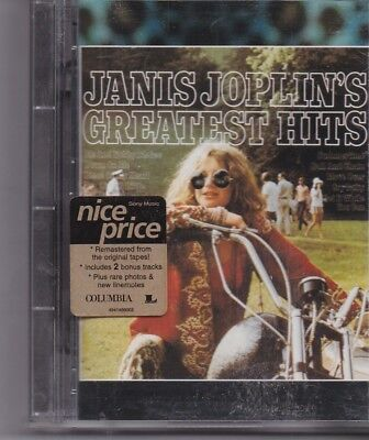 Janis Joplin-Greatest Hits Minidisc album