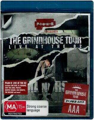 """PLAN B: THE GRINDHOUSE TOUR - LIVE AT THE O2"" Blu-ray - Region [B] NEW"