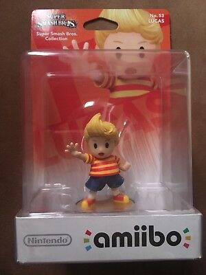 Amiibo Lucas Super Smash Bros