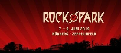 3 x Rock im Park 2019 + 3 x Zeppelin Stage Camping Tickets
