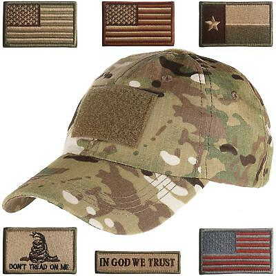 Lightbird Tactical Hat Tactical Military Patches Hat for Men Work, Gym