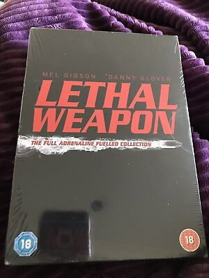 Brand New And Sealed Lethal Weapon Collection Dvd Boxset
