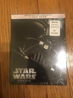 Star Wars A New Hope Limited Edition Steelbook In packaging
