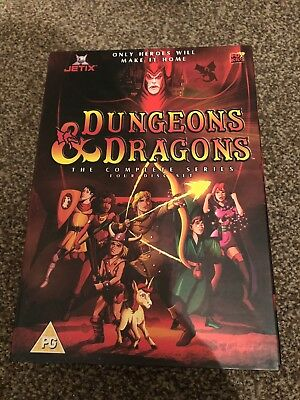 Dungeons & Dragons - The Complete Animated Series [DVD] [1983] - DVD