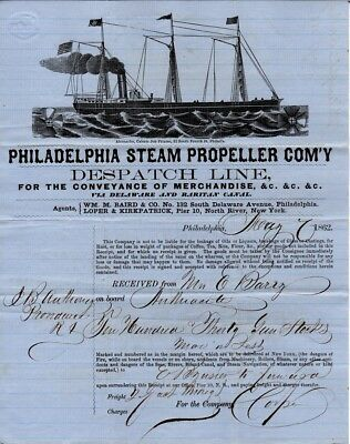 1862, Providence Tool and Armory, full engraved shipping invoice, Gun Stocks