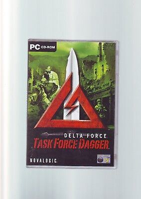 Delta Force: Task Force Dagger - Pc Game - Original & Complete With Manual - Vgc