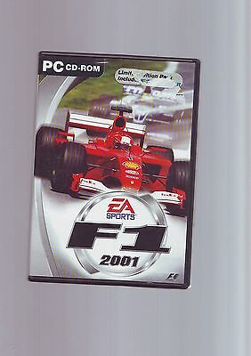 F1 2001 & F1 Manager - Limited Edition Pc Game - Fast Post - Original & Complete