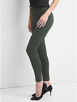 ed553245b7 New Women's Gap High Rise Sculpt Sleek Leggings Pants Olive Small S NWT 2017