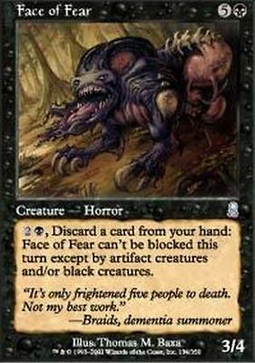 MTG : Odyssey : Face of Fear