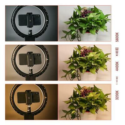 "7"" LED Ring Light Camera Photo 2800-5500K Dimmable LED Ring Lamp + Tripod"