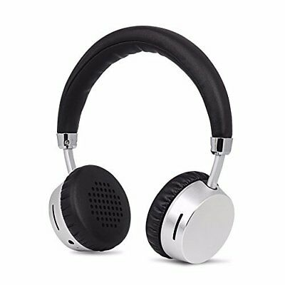 Wireless Bluetooth Headphones on Ear by Meidong with Mic Stereo Lightweight