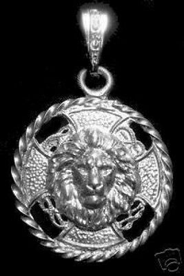 LOOK Big HUGE HEAVY Saint MARK Matthew John LION sterling silver CHARM Venice Je