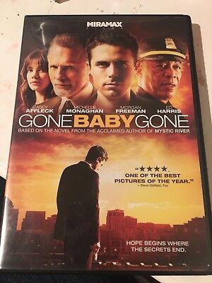 Gone Baby Gone DVD Movie Casey Affleck, Michelle Monaghan, Morgan Freeman