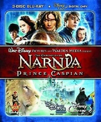 The Chronicles of Narnia: Prince Caspian (2008 Blu-ray, 3-Disc Set) BRAND NEW