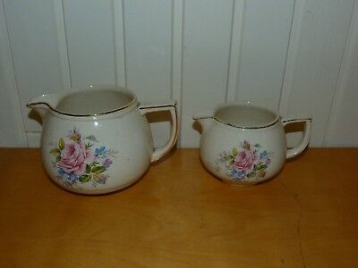 2 Collectable Vintage Arthur Wood Small/Large Jugs 3094 3095