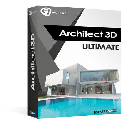 Architect 3D Ultimate 19 Full Edition | Windows PC ⭐ Digital Download ⭐