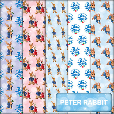 PETER RABBIT SCRAPBOOK PAPER - 10 x A4 pages