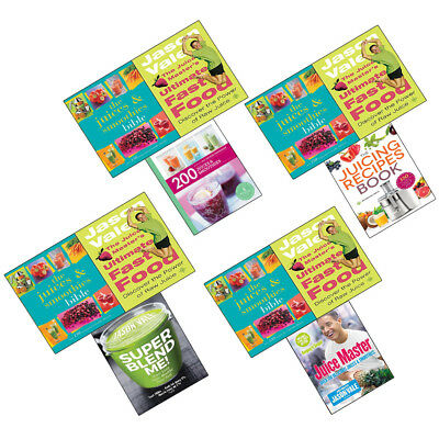 Juice Master's Ultimate Fast Food Discover the Power of Raw Juice Collection Set