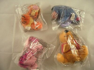 McDonalds Happy Meal Winnie the Pooh Soft Plush Toys Complete Set