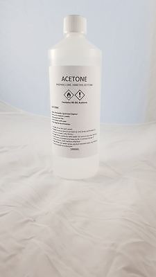 Acetone Super Strong 99.9% Pure High Quality - Salon System Acetone - Acetone 1L