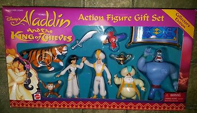 Disney's Aladdin And The King Of Thieves Action Figure Gift Set! New! Sealed Box