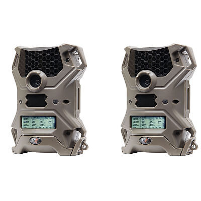 Wildgame Innovations Vision 14 Lightsout 14MP Infrared Hunting Camera (2 Pack)