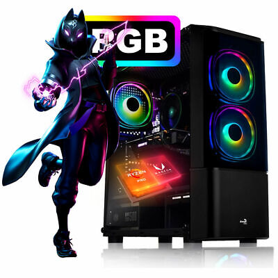 Gaming PC AMD Ryzen™ 3 3200G 4,0 Ghz 8GB Ram SSD Windows Computer Komplett Gamer