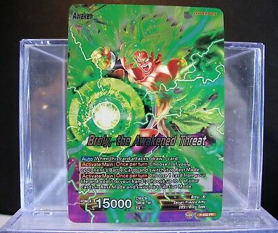DRAGONBALL Super BROLY the Awakened Threat foil Promo Leader P-092 NM/M !!