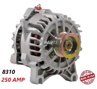 250 Amp 8310 Alternator Ford F Super Duty Excursion NEW High Output Performance