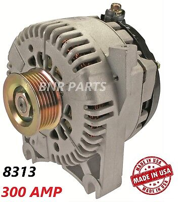 300 AMP 8313 Alternator Ford Lincoln Mercury High Output Performance HD NEW USA