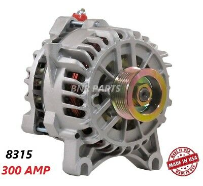 300 AMP 8315 Alternator Lincoln Mercury Ford High Output Performance HD NEW USA