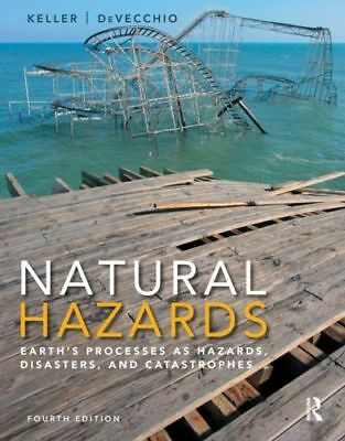 Natural Hazards:Earth's Processes as Hazards,Disasters,and Catastrophes 4th+GIFT