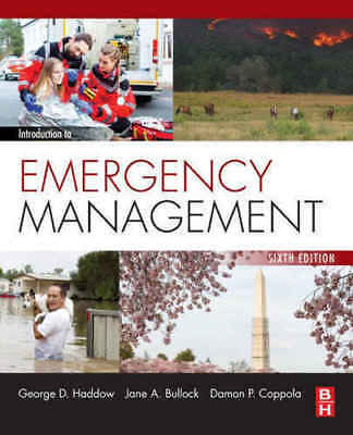 Introduction to Emergency Management 6th Edition (EB00K)+GIFT