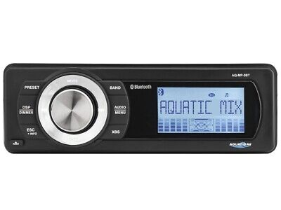 Stereo Per Barca Impermeabile Ip55 Marino Aquatic Av Aq-Mp-5Bt Bluetooth