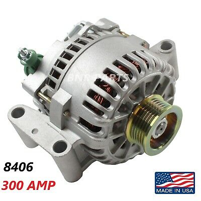 300 AMP 8406 Alternator Ford Focus High Output Performance HD NEW USA