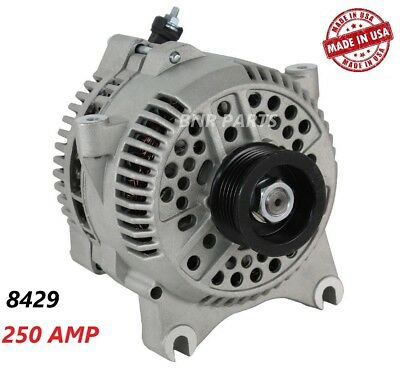 250 AMP 8429 Alternator Ford F250 F350 F450 F550 SUPER DUTY HIGH OUTPUT Perform