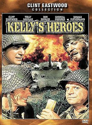 Kellys Heroes (DVD, 2000, Clint Eastwood Collection) DISC IS MINT
