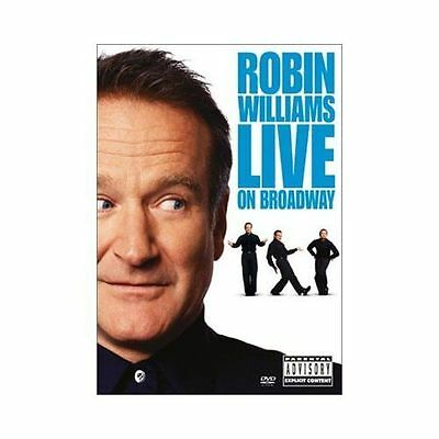 Robin Williams - Live On Broadway (DVD, 2002) DISC IS MINT