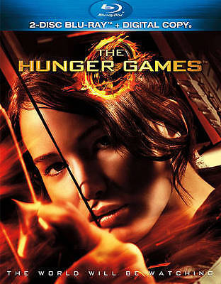 The Hunger Games (Blu-ray Disc, 2012, 2-Disc Set) VERY GOOD