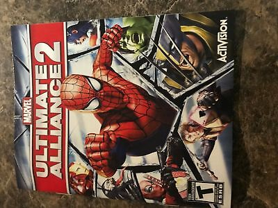 Marvel Ultimate Alliance 2 - Playstation 3 Ps3 - Instruction Manual Only