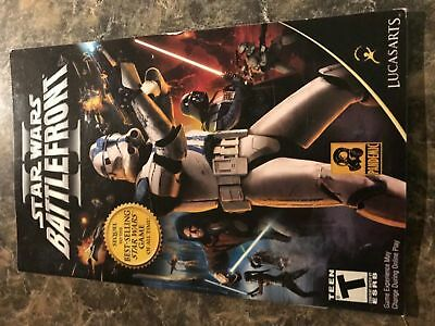 Star Wars Battlefront Ii 2 - Playstation 2 Ps2 - Instruction Manual Only