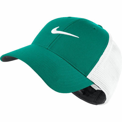 1686e98f408 NIKE LEGACY 91 TOUR MESH PERFORATED GOLF CAP HAT Teal   White L XL