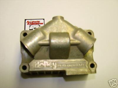 Holley Carburetor Dominator Fuel Bowl dual inlet New
