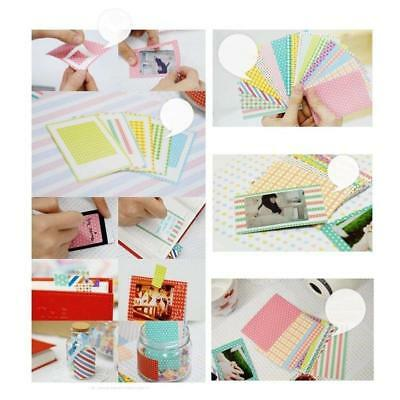 40 Sheets Instant Films Sticker Supply For FujiFilm Instax Mini 8 7s 25 50s E9D7