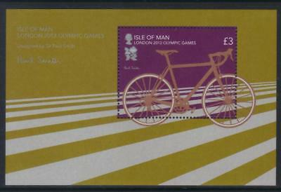 Isle Of Man 2012 Olympic Games Mnh Ms
